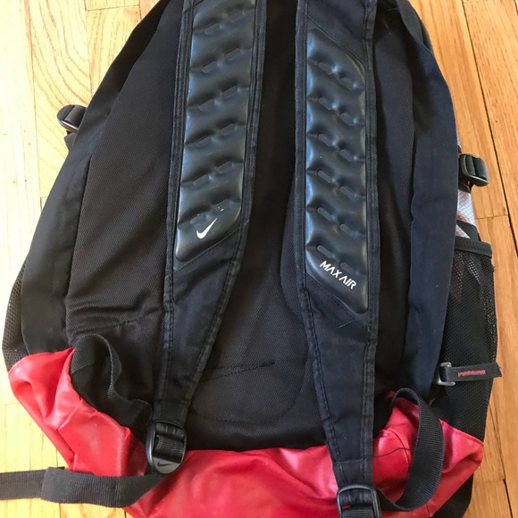 air max backpack black